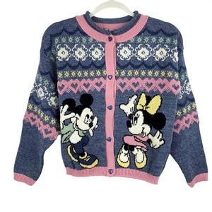 Vintage Disney Minnie Mouse & Mickey Sweater 14